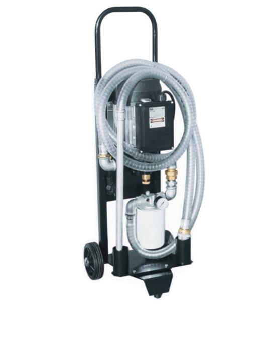 Unitate mobila pentru filtrarea uleiului hidraulic Image