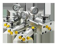 Amplificatori hidraulici de inalta presiune