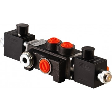 Distribuitor actionat electric cu o sectiune si 3 pozitii Image
