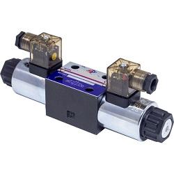 Distribuitor hidraulic electric DN6 cu doua bobine Image